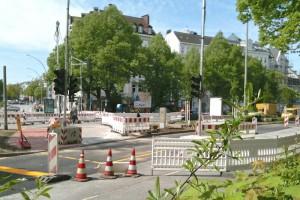 Umbau Neuer Pferdemarkt 11.05.2015