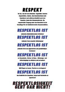 Respekt Poster